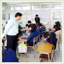 授業の見守り